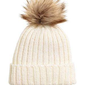 H&M Knitted Winter Puff Ball